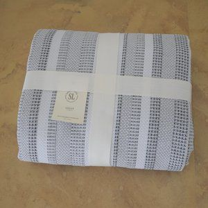 Southern Living 100% Cotton Logan Queen Coverlet